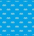 3d glasses pattern seamless blue vector image