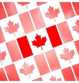 National Flag of Canada Day Abstract dotted vector image vector image