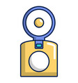 oldschool camera icon cartoon style vector image