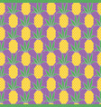 pineapple pattern vector image