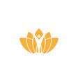 spa aesthetic logo design template vector image vector image
