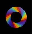 Spectrum of visible light- color wheel design vector image vector image