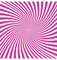 abstract spiral ray background - graphic vector image vector image