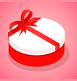 candy box icon isometric style vector image