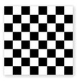 chessboard background empty chess board vector image vector image