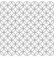 geometric circle seamless star pattern abstract vector image vector image
