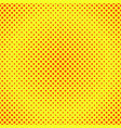halftone background red and yellow vector image vector image
