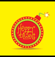 happy diwali festival greeting and poster design vector image vector image