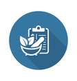 herbal medicine flat icon vector image