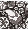 vintage grunge paisley wallpaper vector image vector image