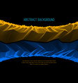 abstract background with fantastic landscape vector image vector image