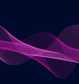 abstract flow background vector image