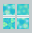 Bright blurred backgrounds vector image