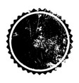 cricle grunge stamp vector image vector image