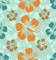 Hibiscus background vector | Price: 1 Credit (USD $1)