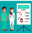Pharmacy Doctors Characters vector image vector image