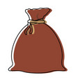 sack icon image vector image