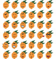 set of funny lemon character emojis vector image vector image