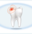 Tooth pain sign isolated teeth white sign dental