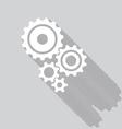 Cogs gears set vector image vector image