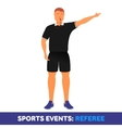 flat icon sport events vector image vector image