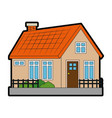 house real estate vector image vector image