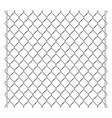 metal grid palisade fence design vector image vector image