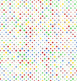 Pattern of Vibrant Dots vector image