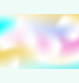 abstract bright wavy holographic background for vector image