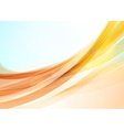 Abstract colorful wave background Bright shining vector image vector image