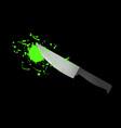 alien blood vector image vector image