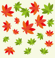 cannabis leaves plant hippie style pattern vector image vector image