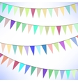 Colorful Flags vector image