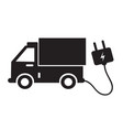 electric car icon idesign vector image