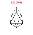 eos eos logo vector image