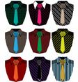 Men shirt vector image