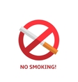 No smoking sign vector image vector image