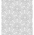 Shell seamless ethnic pattern vector image vector image