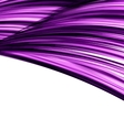 Violet abstract wave techno background vector image