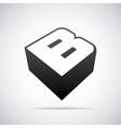 logo for letter B Design template vector image