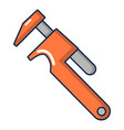 adjustable wrench icon cartoon style