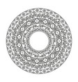 ancient chinese round pattern detailed decorative vector image vector image