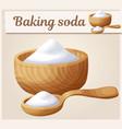 baking soda cartoon icon series food