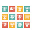 child baby and baby online shop icons vector image