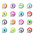 cleaning company icons set vector image vector image