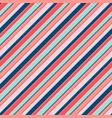 colorful diagonal stripes seamless pattern lines