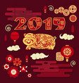 happy chinese new year 2019 year of pig vector image vector image