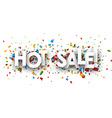 Hot sale paper banner vector image