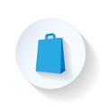 Package flat icon vector image vector image