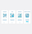 planetology space research scientific ux ui vector image vector image